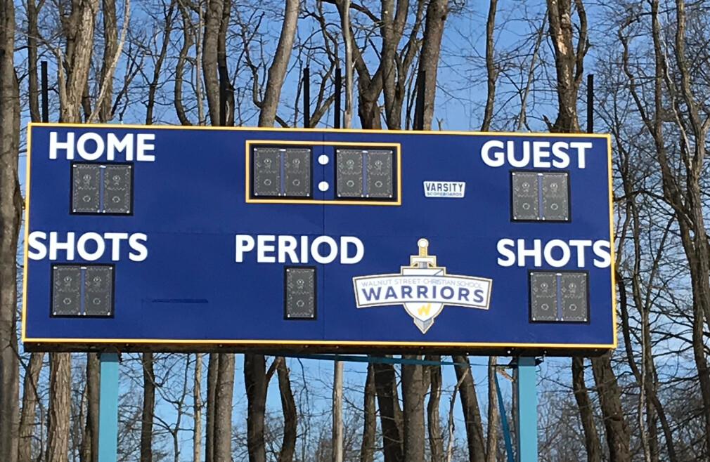 Soccer Scoreboard Dedication