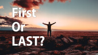 First or Last to Praise God?